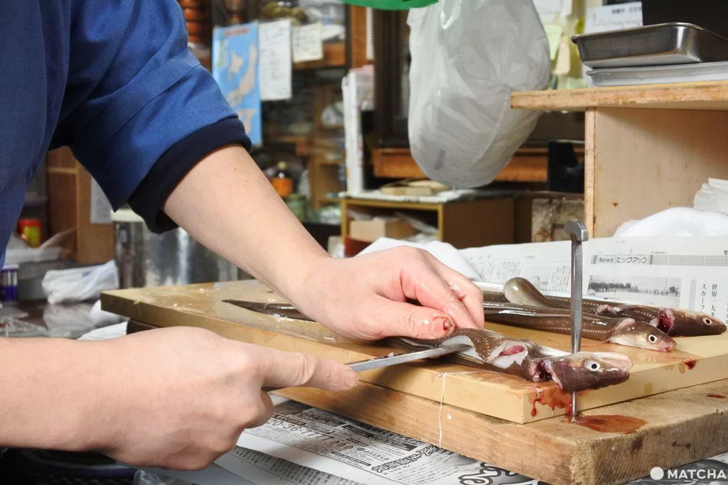 穴子 料理