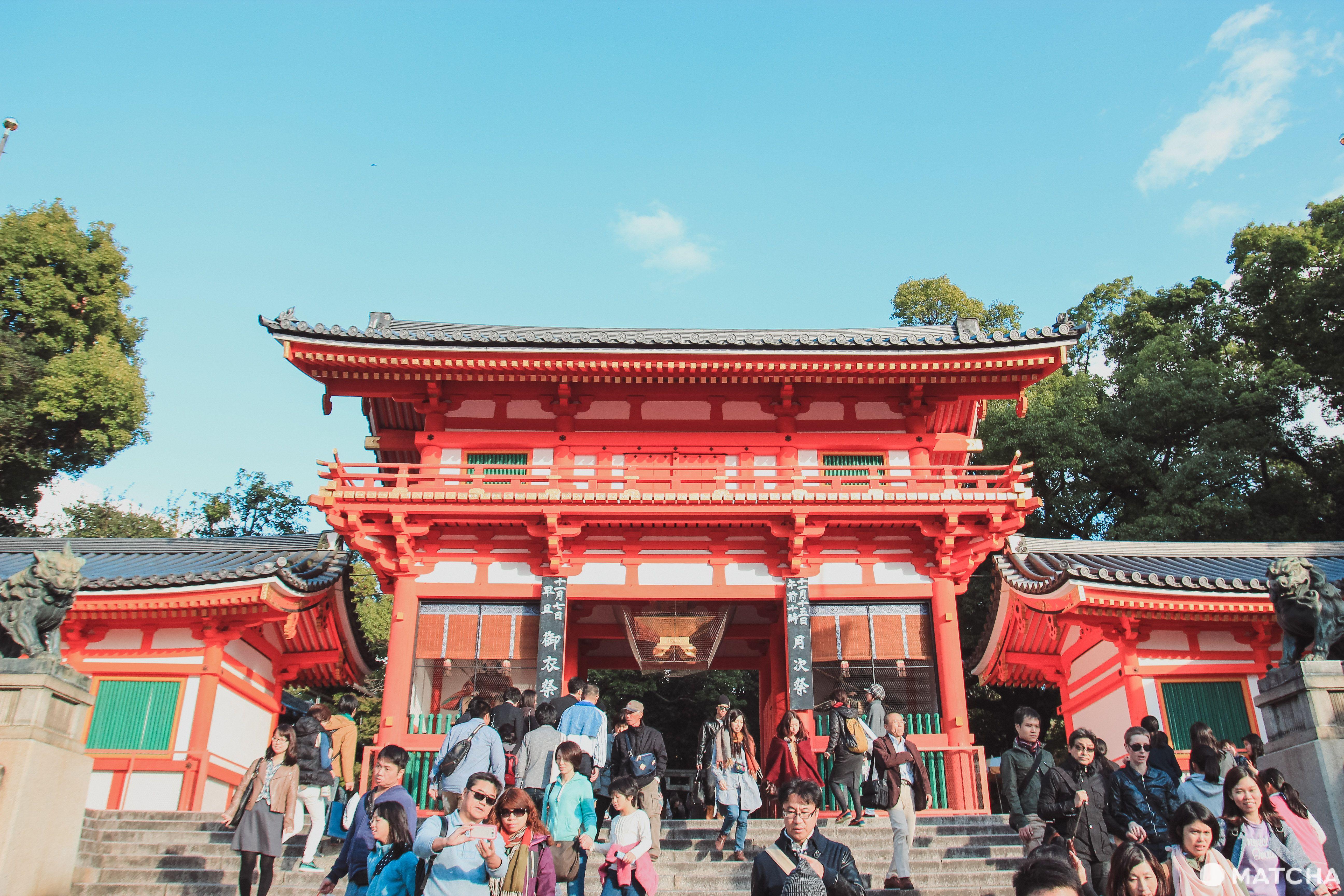 【京都】八坂神社半天女子散步提案