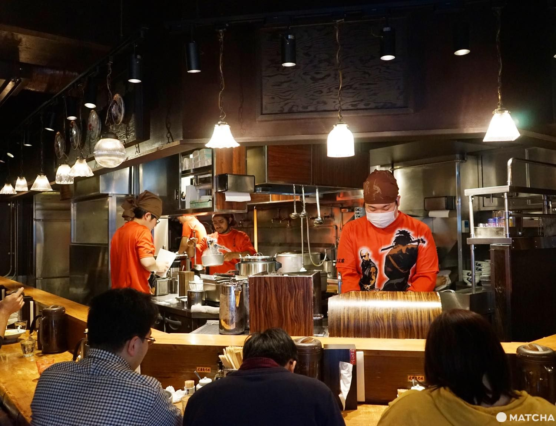 A One-of-a-Kind Ramen Experience In Shinjuku At Menya Musashi