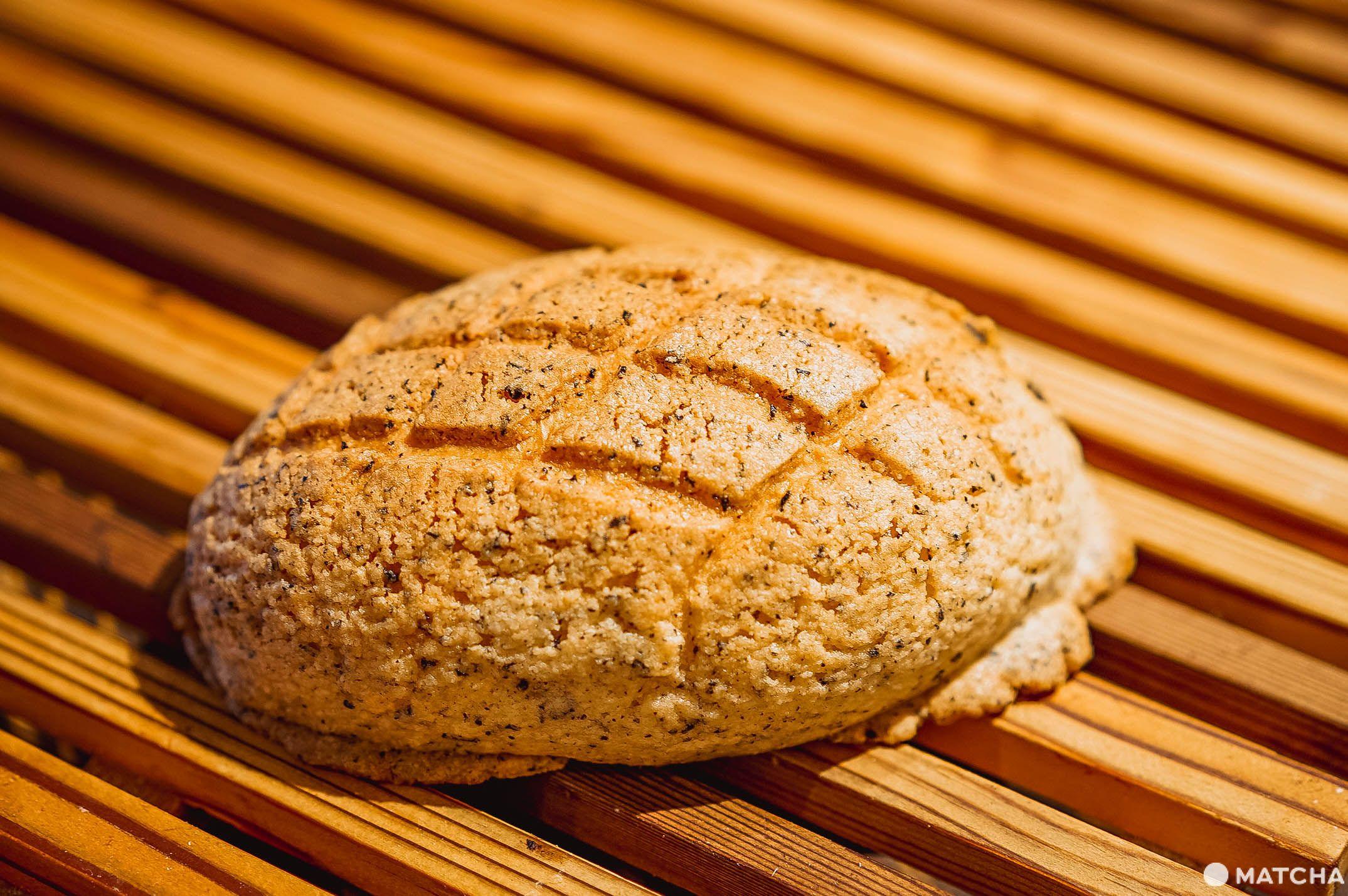 伯爵茶哈密瓜菠蘿麵包
