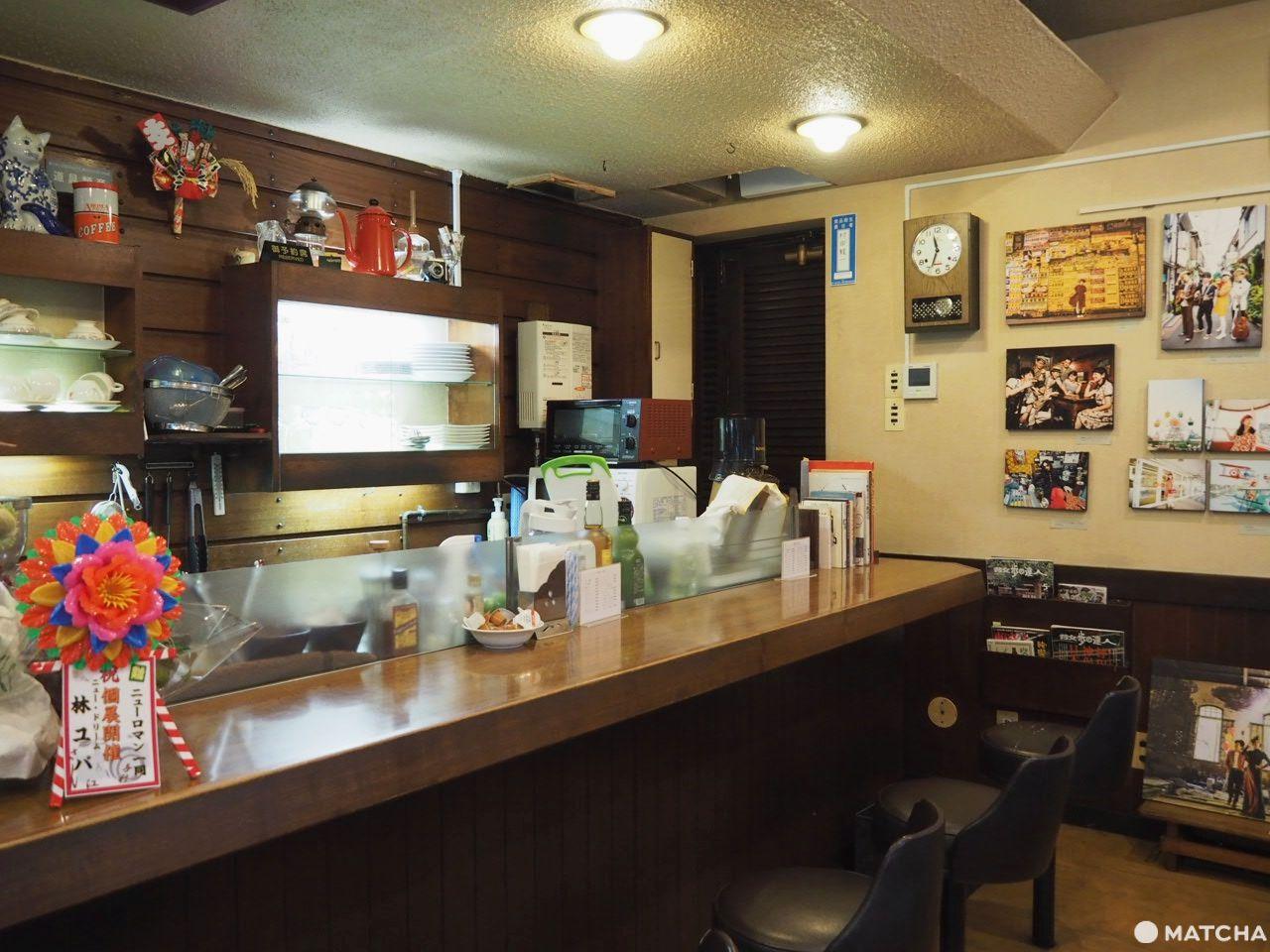 村田商會 店內吧台