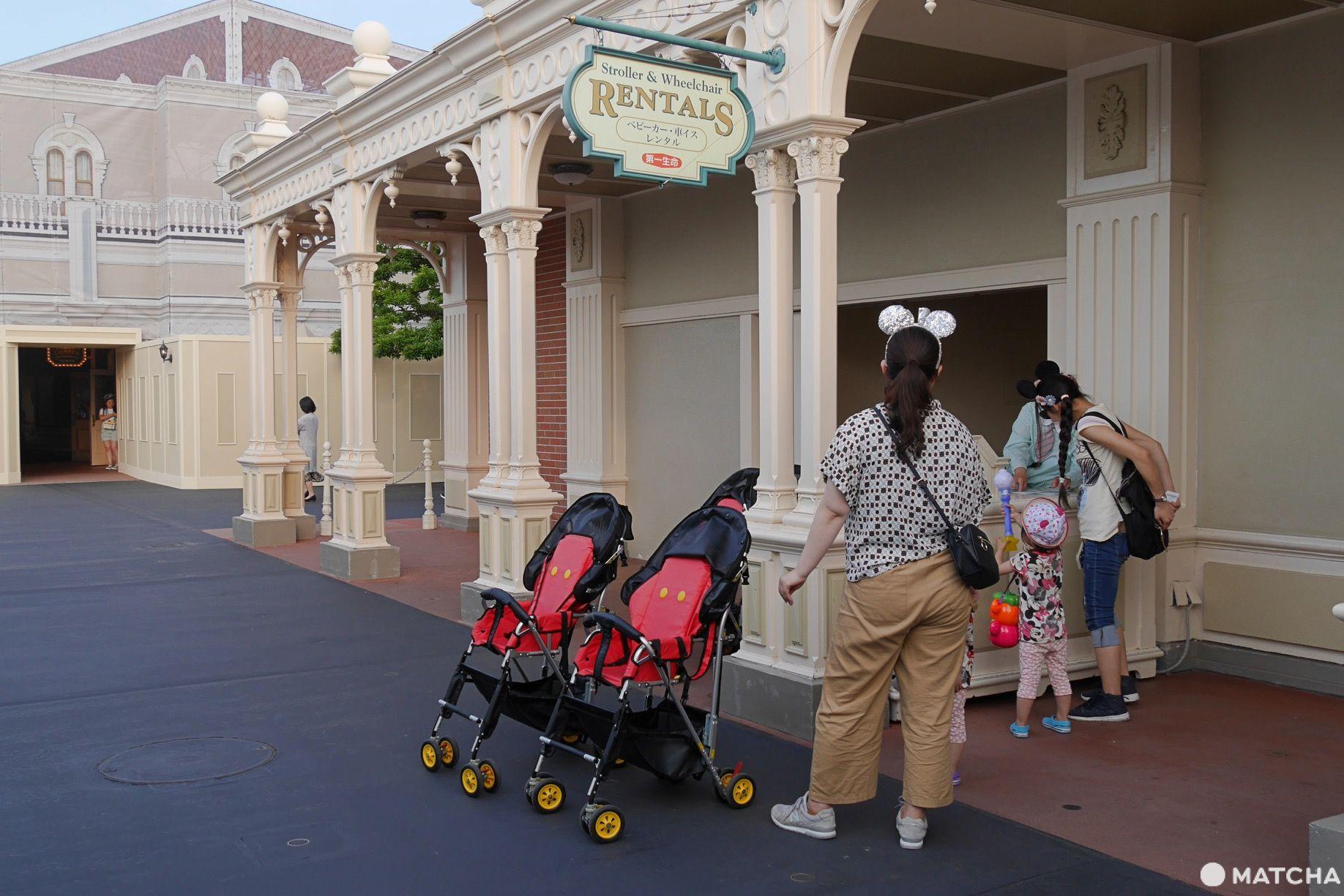 東京迪士尼嬰兒車