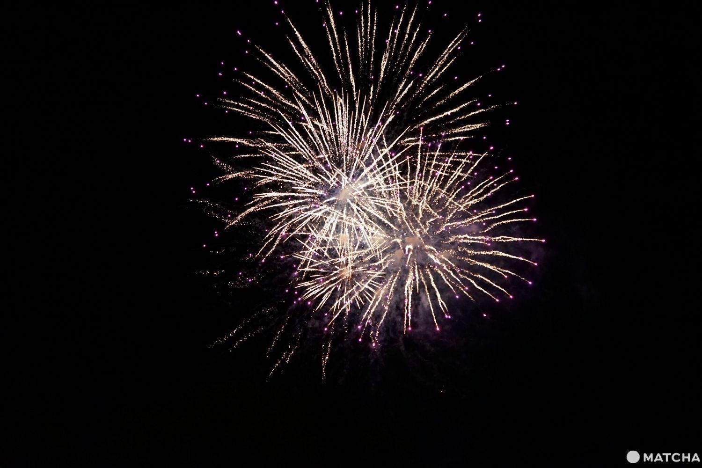 Fireworks at Tomamu
