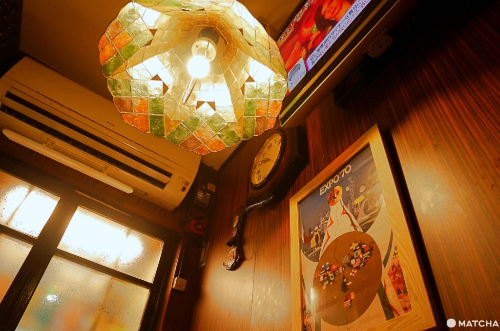 千成屋珈琲 吊燈