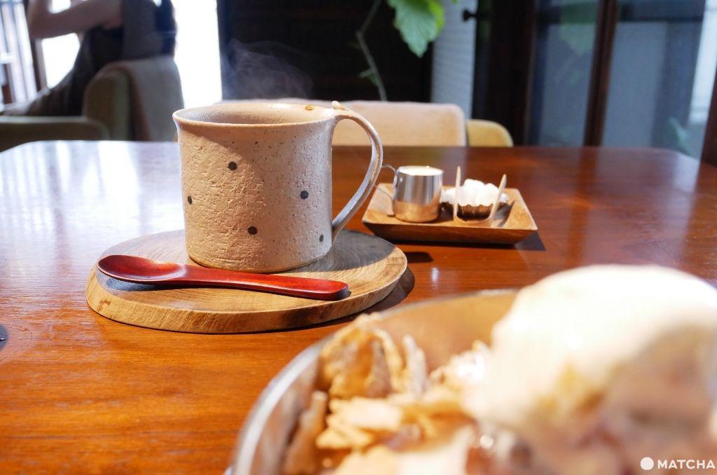 cafeことだま茶