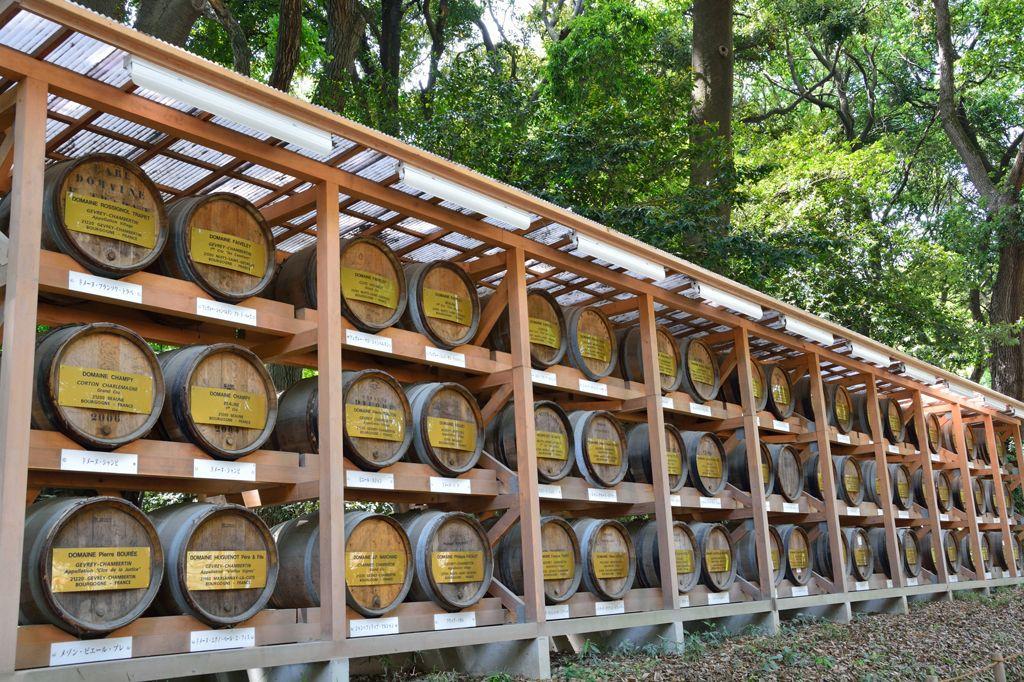 明治神宮 酒桶