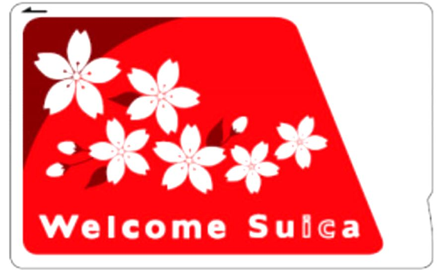 Welcome Suica 外國人西瓜卡
