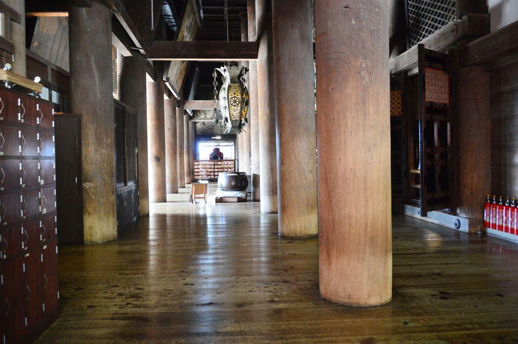 清水寺內部