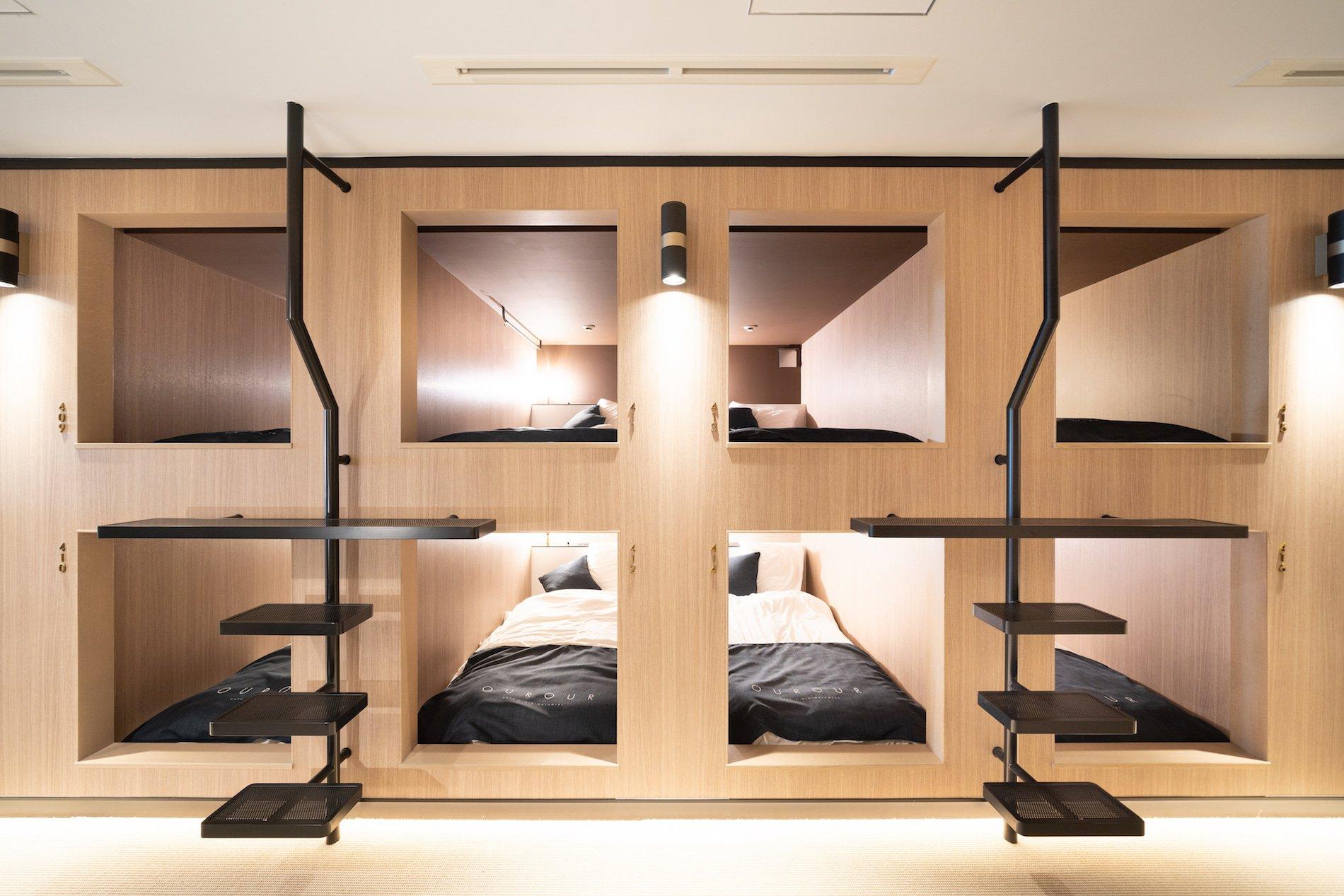 6 Stylish Tokyo Capsule Hotels Lodge