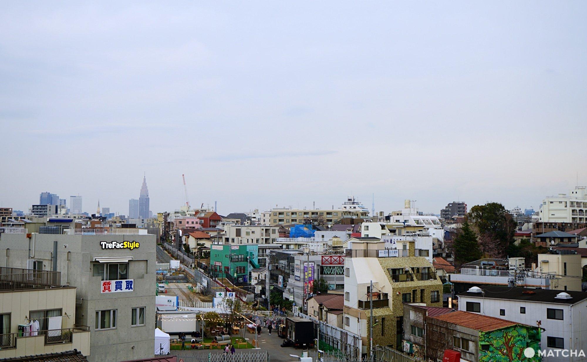 view from shimokitazawa