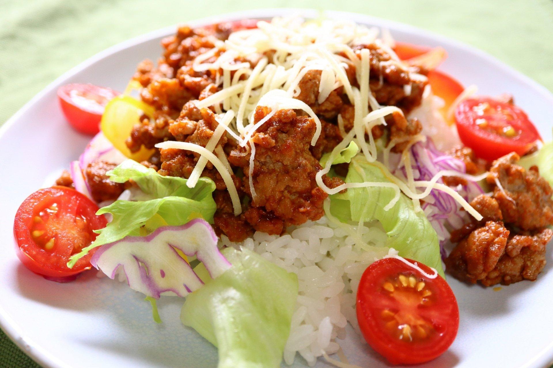 okinawan taco rice