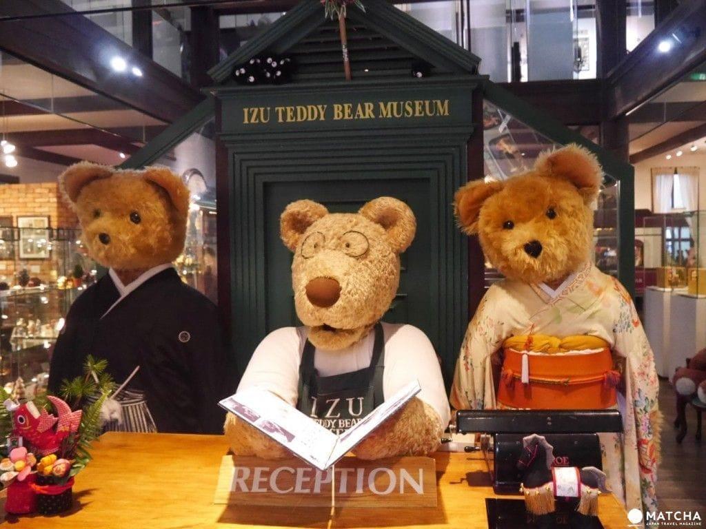 靜岡伊豆小旅行・拜訪「泰迪熊博物館」進入夢幻世界