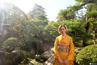 在廣島縣福山市 「福壽會館」,體驗演奏日本箏&穿和服!