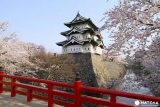 """【จ.อาโอโมริ】""""ปราสาทฮิโรซากิ"""" 1 ใน 100 แหล่งชมซากุระขึ้นชื่อของญี่ปุ่น"""