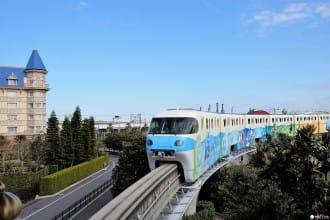 นั่งรถไฟดิสนีย์รีสอร์ทไลน์เดินทางท่องเที่ยวภายในโตเกียวดิสนีย์รีสอร์ท!