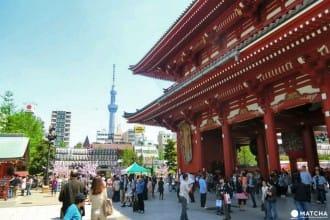 第一次來東京玩嗎?淺草、晴空塔、台場一日遊!