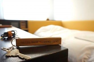 <div class='captionBox title'>百年旅館的革新!文青風旅舍 鹿兒島 Hotel New Nishino</div>