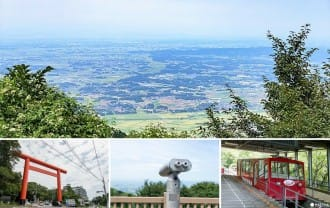 <div class='captionBox title'>搭上往山頂的纜車!前往從東京出發一天可以來回的「筑波山」俯瞰關東平原的美景吧!</div>