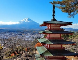 <div class='captionBox title'>Fall In Love With Mount Fuji - 3 Autumn Photo Spots In Fujiyoshida</div>