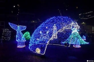 Hiroshima's Dreamination - A Fairytale Illumination At The Peace Boulevard