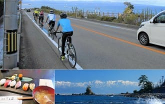 <div class='captionBox title'>富山湾岸と田園をサイクリングで巡る!富山で訪れたいオススメ観光スポット</div>