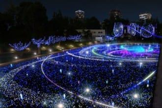 Tokyo Midtown And Akasaka Sacas Illuminations 2017-2018