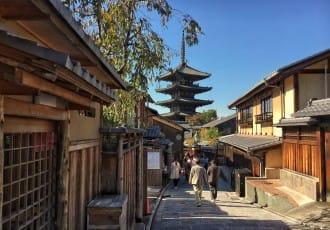 เส้นทางเดินเที่ยวสัมผัสเสน่ห์เมืองเก่า ย่านกิอง เกียวโต (Gion, Kyoto)