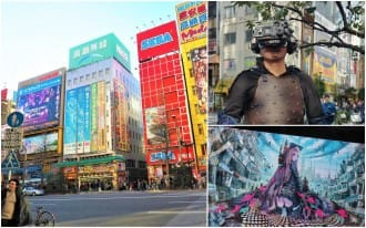 <div class='captionBox title'>Deep Akihabara Tradition And Technology - Martial Arts, VR, Robots And More!</div>