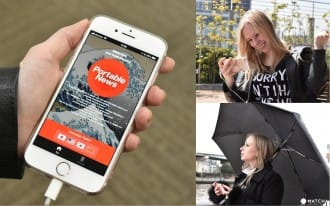 <div class='captionBox title'>Portable News - A Free App To Watch World News During Your Stay in Japan </div>