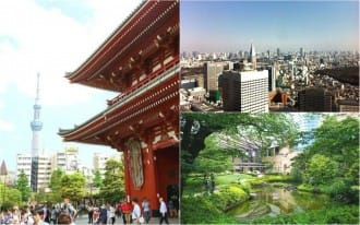 <div class='captionBox title'>Where To Stay In Tokyo - Area Guide</div>