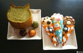 <div class='captionBox title'>Osaka's Cutest Bread - Blue Jean Bakery's Cat-Shaped Baked Goods</div>