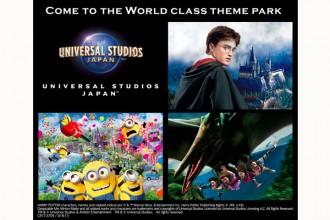 Universal Studios Japan™ Osaka Instant E-Tickets