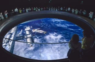 <div class='captionBox title'>TeNQ Space Museum - Have Fun Exploring Space At Tokyo Dome City!</div>