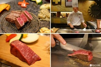 <div class='captionBox title'>Decadent Kobe Beef For A Reasonable Price At Tanryu in Sannomiya</div>