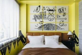 <div class='captionBox title'>The PEANUTS HOTEL Kobe - Enter The World Of Snoopy And Friends</div>