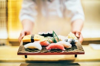 <div class='captionBox title'>How To Order Sushi - 6 Simple Japanese Phrases To Use At Restaurants! </div>