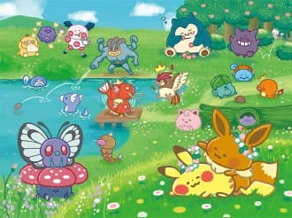 <div class='captionBox title'>卡娜赫拉筆下的寶可夢!第二彈Pokémon Yurutto</div>