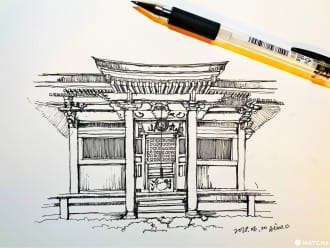 <div class='captionBox title'>【三重 鳥羽】 隱藏在山裡的古老建築—庫藏寺</div>