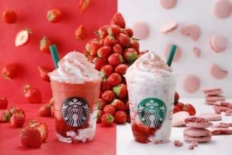 <div class='captionBox title'>Starbucks #STRAWBERRYVERYMUCHFRAPPUCCINO® - Back By Popular Demand</div>