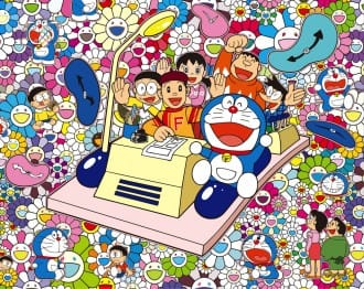 <div class='captionBox title'>「THE 哆啦A夢展 OSAKA 2019」奈良美智、蜷川実花與村上隆藝術家眼中的哆啦A夢 </div>