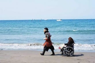 【鎌倉】讓武士帶你去看海,身障者也能盡情享受旅行美好的「ゲストハウス彩(イロドリ)鎌倉」