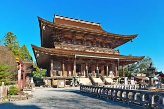 Kinpusenji Temple  - A World Heritage Site On Mt. Yoshino, Nara