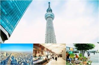 <div class='captionBox title'>【東京晴空塔】TOKYO SKYTREE 從下到上都好玩!美食玩樂攻略</div>