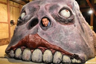 <div class='captionBox title'>【香川】現代の妖怪と会える日本最大のスポット!小豆島の「妖怪美術館」</div>