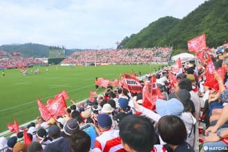 <div class='captionBox title'>【岩手】海嘯重生的象徵!日本最小的橄欖球球場</div>
