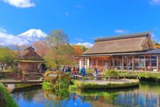<div class='captionBox title'>在山梨縣想要做的12件事——富士山、忍野八海、美食等</div>