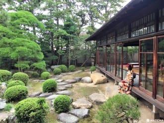 <div class='captionBox title'>【東京】柴又老街中的大正浪漫,和服與庭園的完美組合「山本亭」</div>