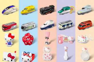 <div class='captionBox title'>小編薪水再次貢獻麥當勞!「快樂兒童餐」鐵道車、Kitty多款玩具登場</div>