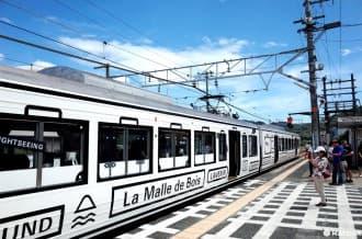 <div class='captionBox title'>【岡山】會移動的大型道具箱!?觀光列車La Malle de Bois</div>