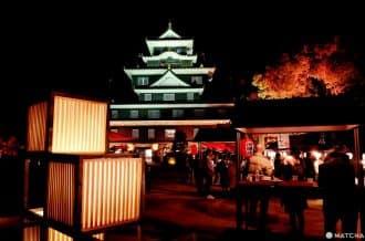 <div class='captionBox title'>【岡山】夜訪日本百名城與日本三大庭園,岡山城「烏城燈源鄉」、後樂園「幻想庭園」</div>